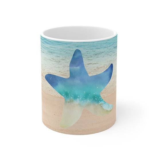 Starfish Ceramic Mug