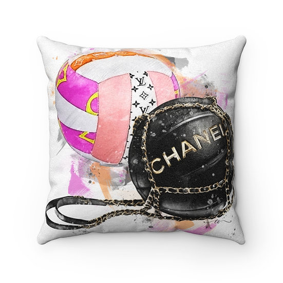Pillow, Fashion Throw Pillows, Fashionista Pillow Decor, Sports Fashion Pillow