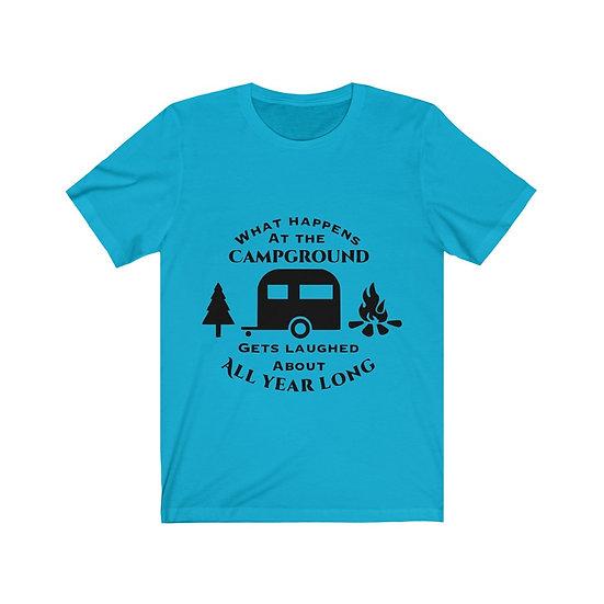 Camping Unisex Jersey Short Sleeve Tee