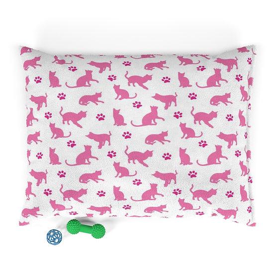 Cat Bed, Pet Bed, Pink Cat Bed