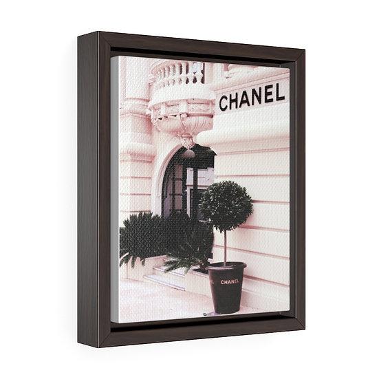 Illustration Chanel art, Chanel Canvas print, Fashion Wall Hanging, Fashionista