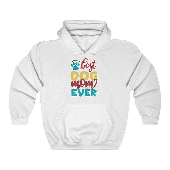 Dog Mom Unisex Heavy Blend Hooded Sweatshirt