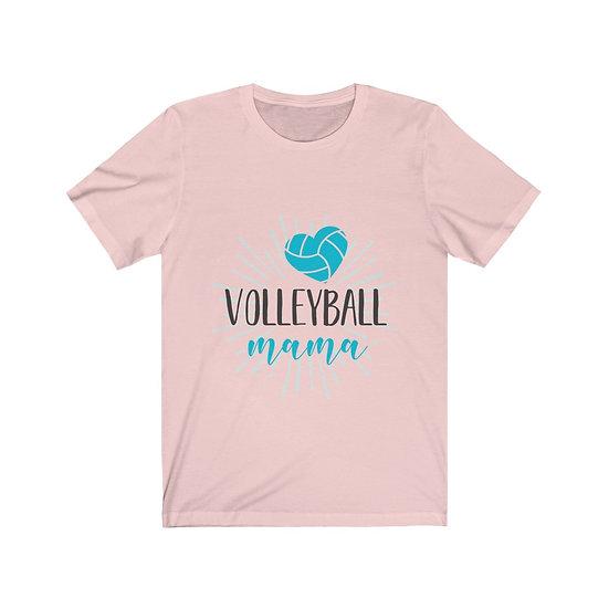 Volleyball Mama Unisex Jersey Short Sleeve Tee