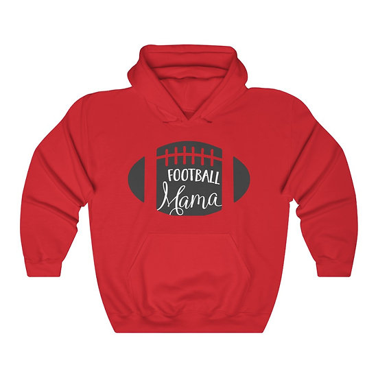 Football Mama Unisex Heavy Blend Hooded Sweatshirt