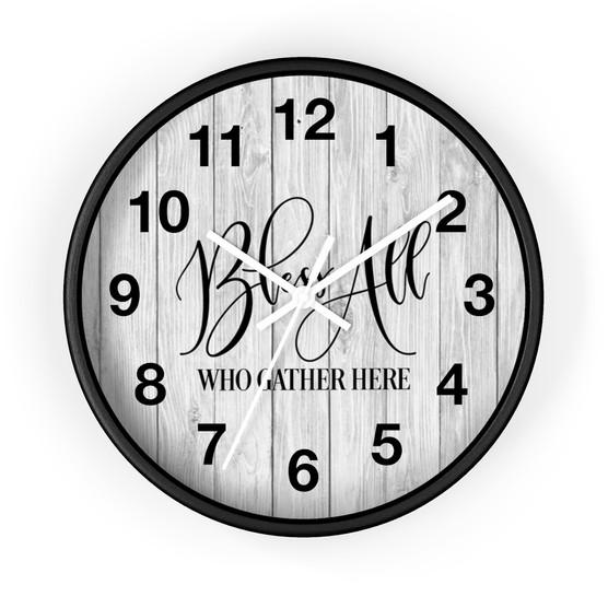 10-in-farmhouse-clock-bless-all-who-gath