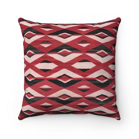 Pillow, Navajo Indian Pattern Pillow, Rustic Southwestern Decor