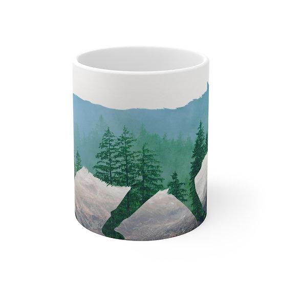 Wolf Ceramic Mug