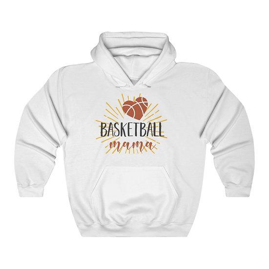 Basketball Mama Unisex Heavy Blend Hooded Sweatshirt