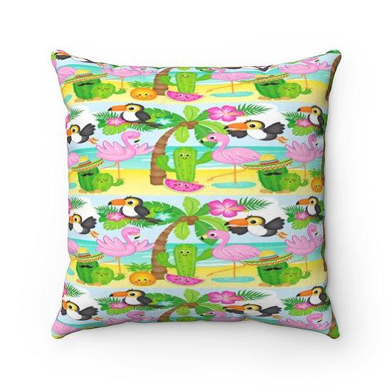 Tropical Summer Pillow
