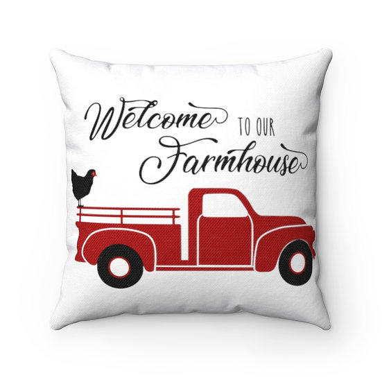 Welcome Pillow, Welcome to Our Farmhouse Pillow, Welcome Pillows