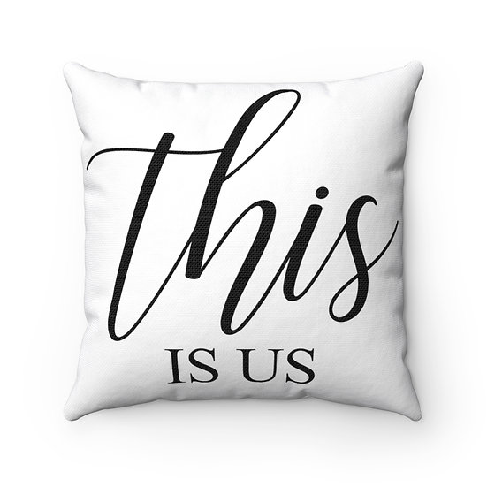 This is Us Farmhouse Pillow, Quote Pillow, Pillow with Sayings