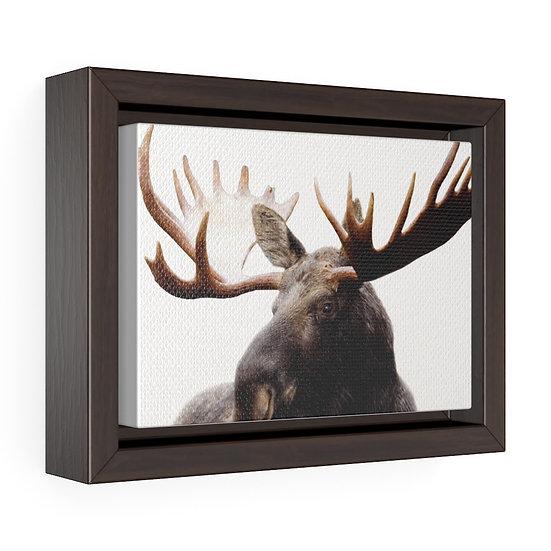 Canvas Print, Bull Moose Canvas Print, Rustic Lodge Wall Decor