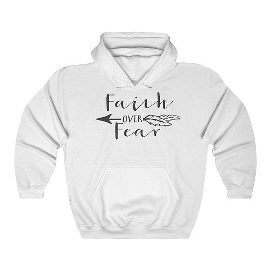 Faith Over Fear Unisex Heavy Blend™ Hooded Sweatshirt