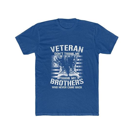 Veteran Brothers Men's Cotton Crew Tee