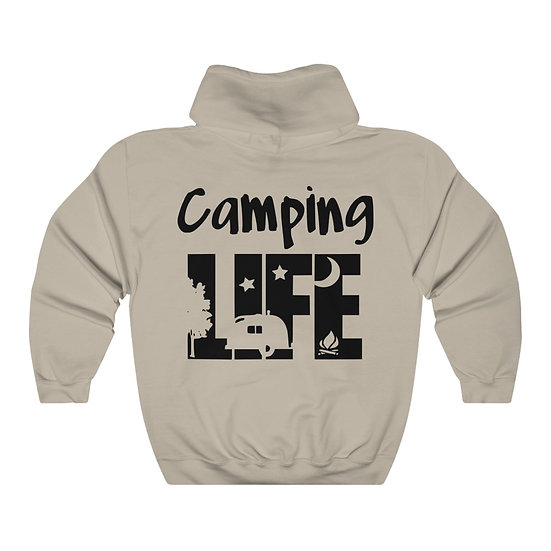 Camping Life Unisex Heavy Blend™ Hooded Sweatshirt