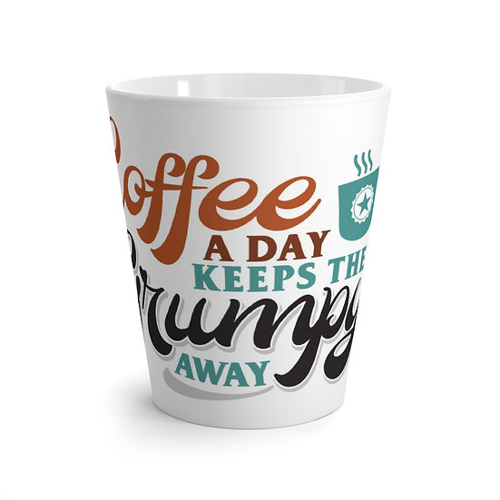Coffee a Day Latte mug