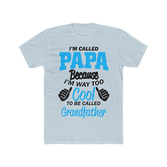 Cool Papa Men's Cotton Crew Tee