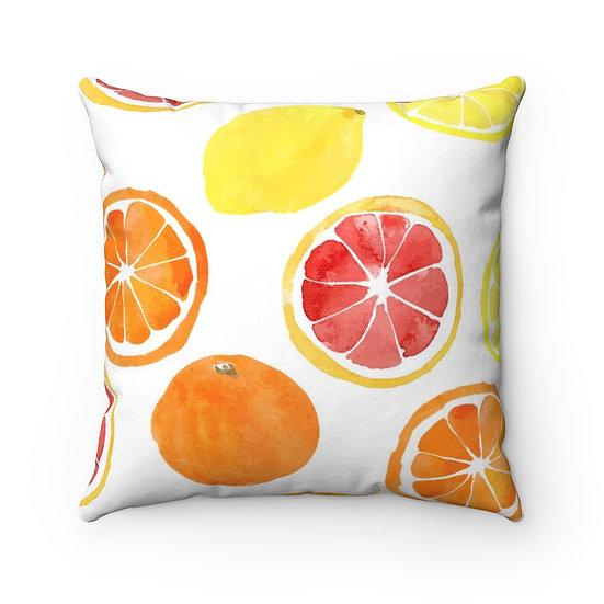 Citrus Decor, Citrus Farmhouse Pillow, Citrus Decorative Pillow