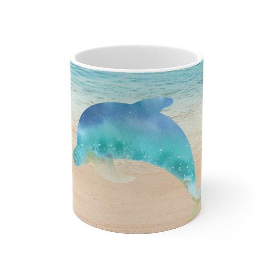 Dolphin Ceramic Mug