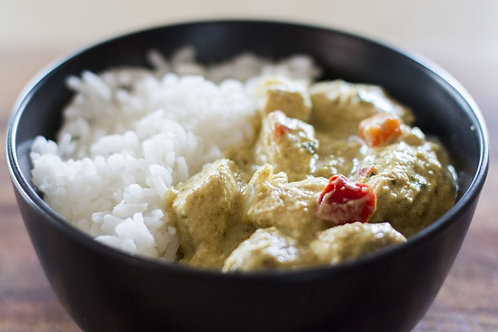 Thai Green Chicken with Jasmine Rice