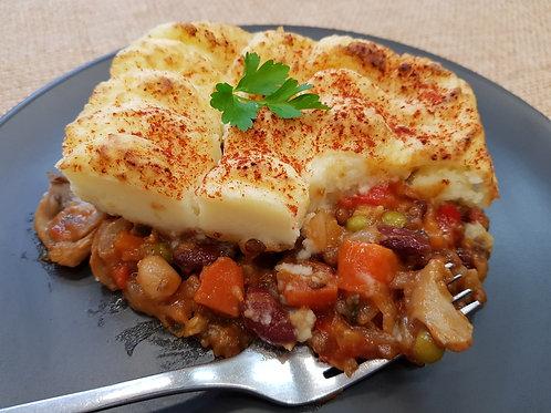 Vegetarian Shepherds Pie - Serves 1