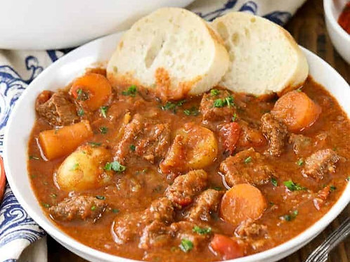 Hungarian Beef Goulash - Serves 2