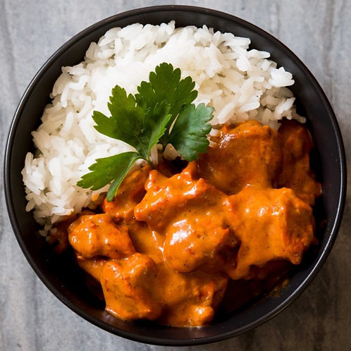 Butter Chicken with Jasmine Rice - Serves 1
