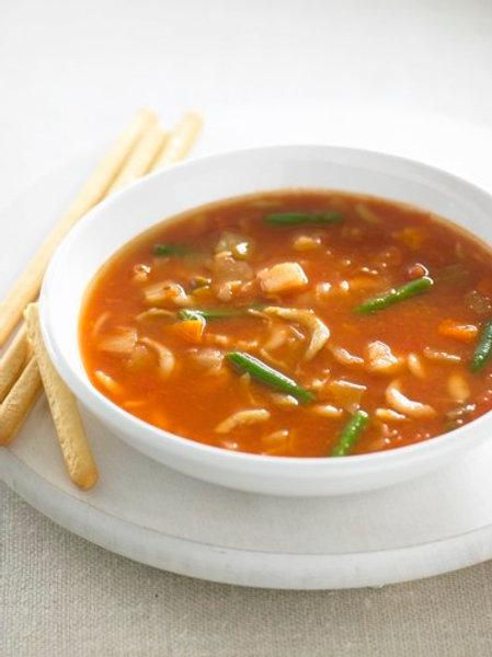 Minestrone Soup - Serves 2