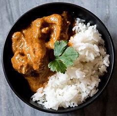 Lamb Korma with Jasmine Rice - Serves 1