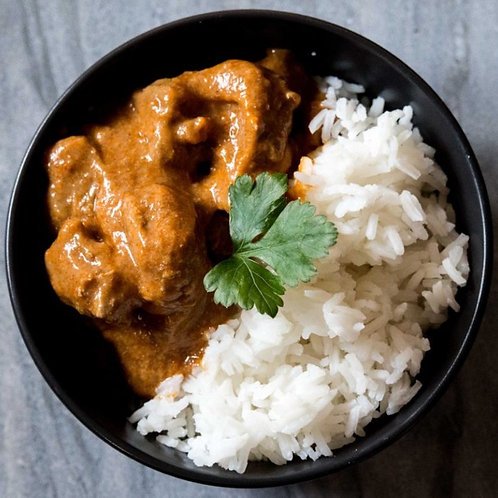 Lamb Korma with Jasmine Rice
