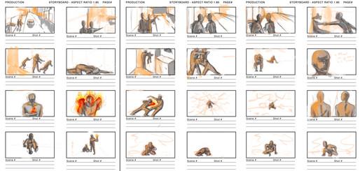 Digital Illustration III - Comic Storyboard Design