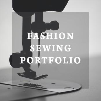 Fashion Sewing Portfolio