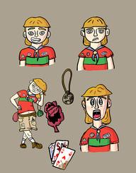 Digital Illustration I - Charactor Design