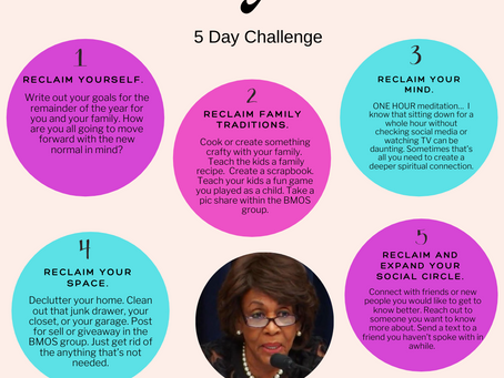 BMOS Reclaim Your Time                              5-Day Challenge