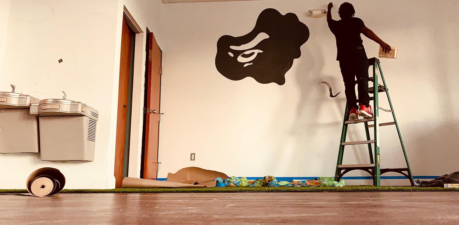 BAPE WALL ART