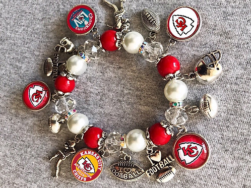 Kansas City Chiefs Bracelet