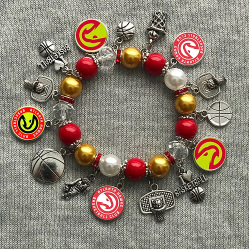 Atlanta falcon throwback bracelet