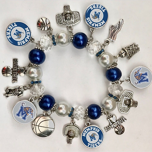 Memphis Tigers Bracelet
