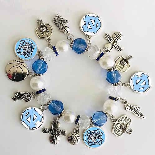 Carolina Tar Heels Bracelet