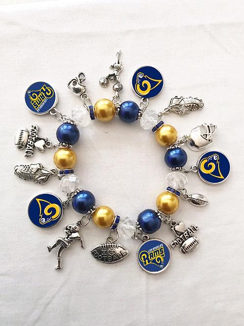 Los Angeles Rams Bracelet