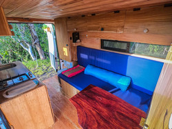 Campervan folding table