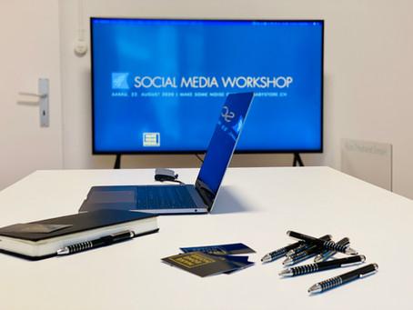 Social Media Workshop für einen professionellen Auftritt