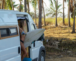 Campervan surftrip