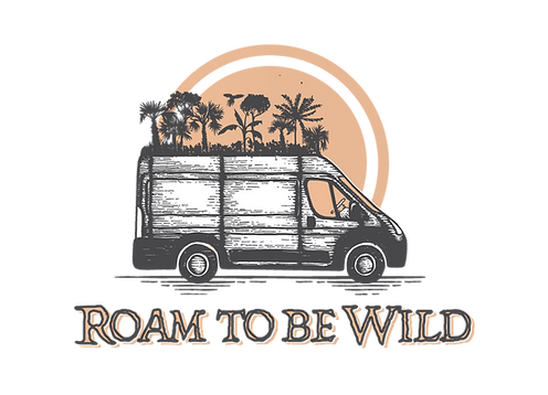 Logo Roam to be Wild