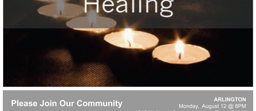 Candlelight Vigil Community Prayer
