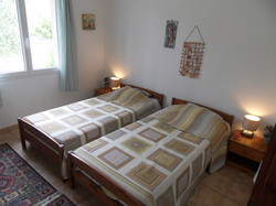 Bedroom 3 twin bedded plus an additi