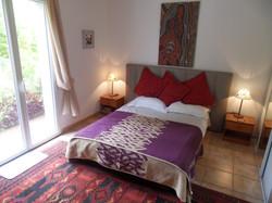 Bedroom 1 open to terrace