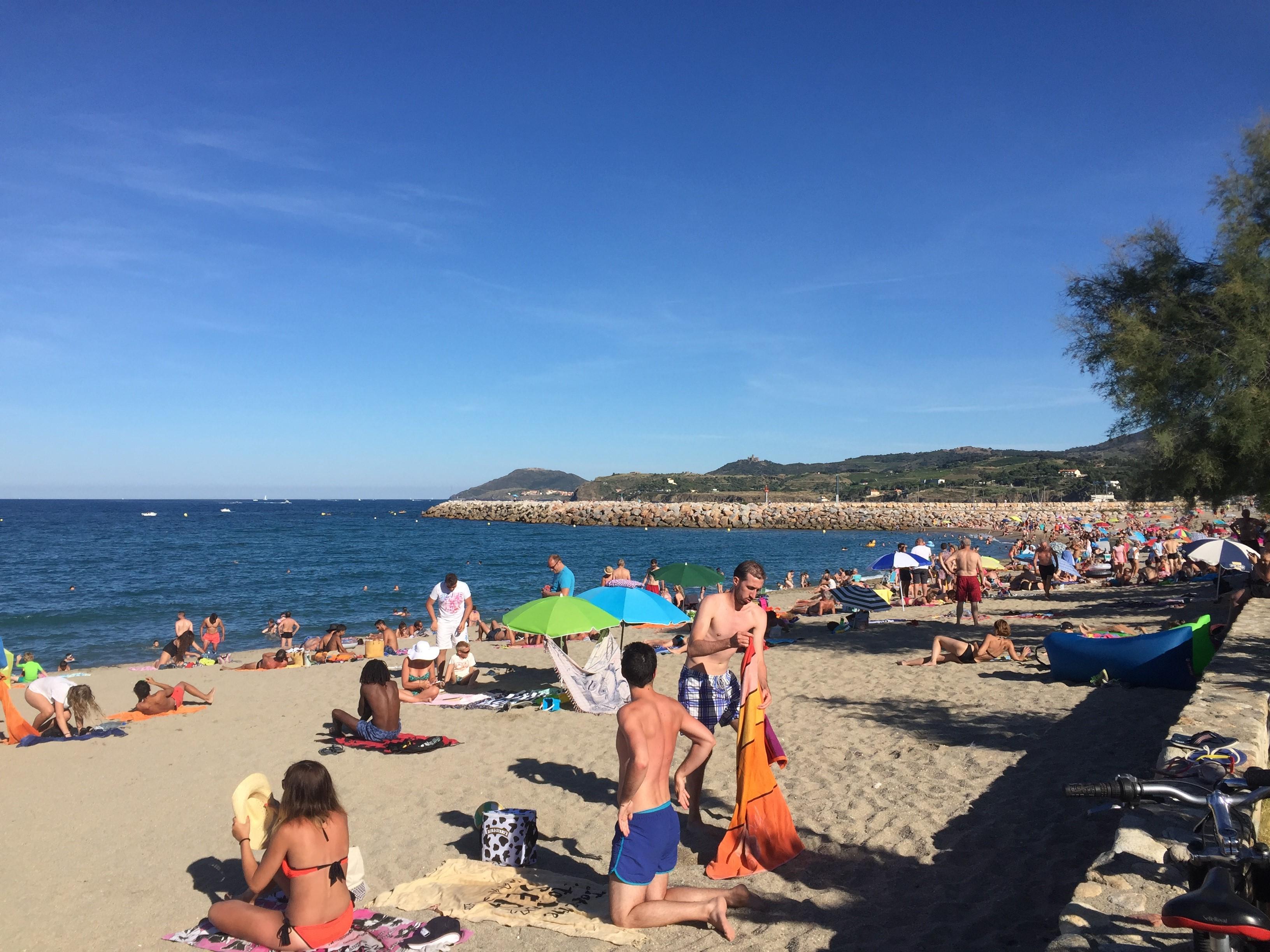 Argeles Beach