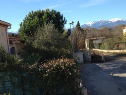 Canigou and front of house
