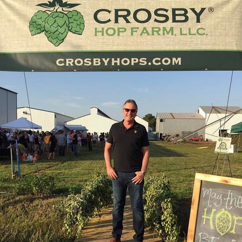 Visit to Crosby Hop farms.